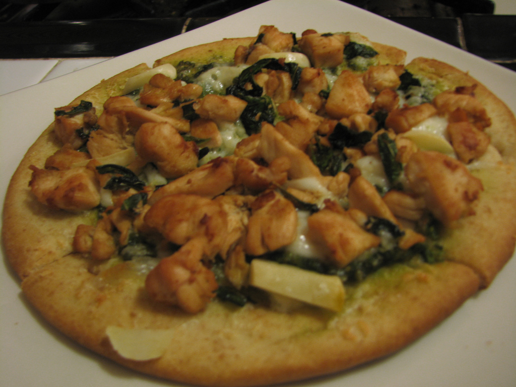 Chicken Ciabatta Pizza