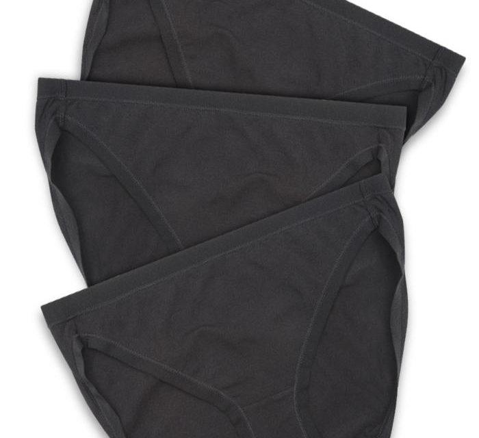 The week of black panties